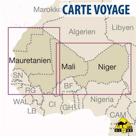 Carte De Touristique Ouest by Gps Globe Carte Touristique De L Afrique Ouest Au 1 2