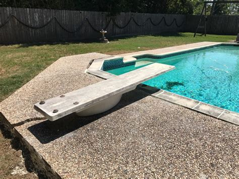 sinking pool deck solutions houston restore beauty