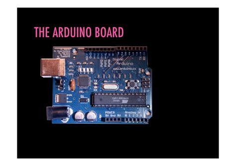 Arduino Introduction Presentation