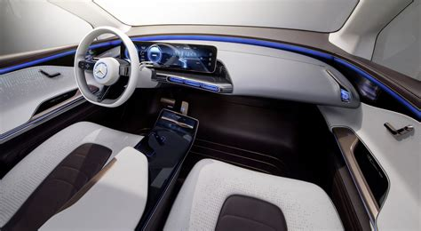 The cabin also previews a version of the mbux infotainment system. Mercedes-Benz Generation EQ Concept - Exotic Car List