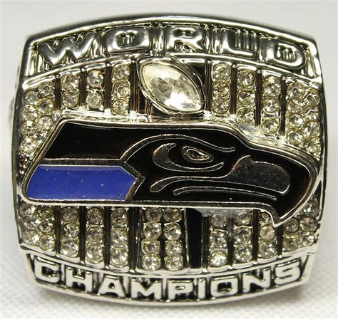 Russell Wilson Seahawks High Quality Replica 2013 Super