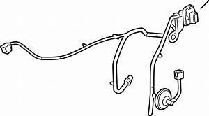 Saturn Aura Door Wiring Harness  Rear