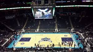 Spectrum Arena Seating Chart Spectrum Center Section 208 Charlotte Hornets