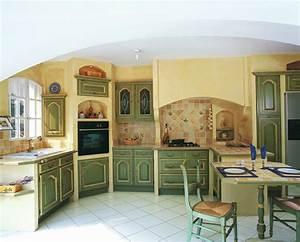 cuisine provencale haut de gamme sur mesure charles rema With salle de bain provencale