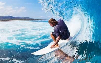 Surf Wave Desktop Ocean Sports 4k Mf22