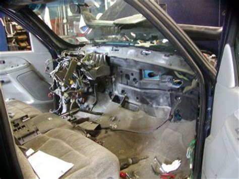 lincoln town car heater core removal