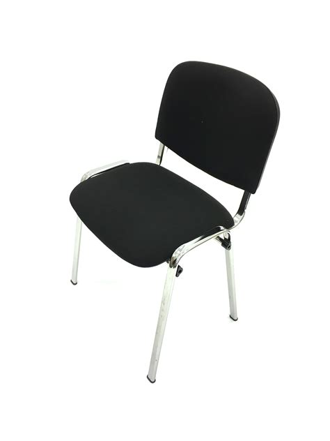 black conference chair hire silver frame chairs be