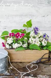 Mein Nachmittag Blumendeko : dekorationsidee f r alte ziegelform mayodans home garden crafts ~ Buech-reservation.com Haus und Dekorationen