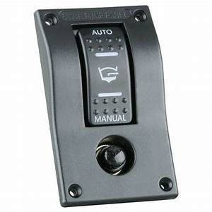 12v 3 Way Bilge Pump Rocker Switch Automatic Auto  Off