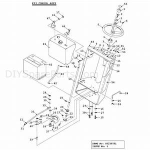 Countax K Series Lawn Tractor 1995  1995  Parts Diagram  K13 Consol