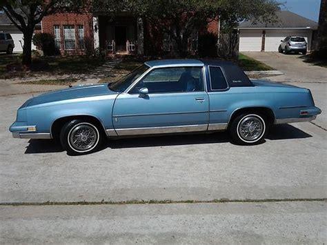 Buy Used 1986 Oldsmobile Cutless Supreme Salon Original