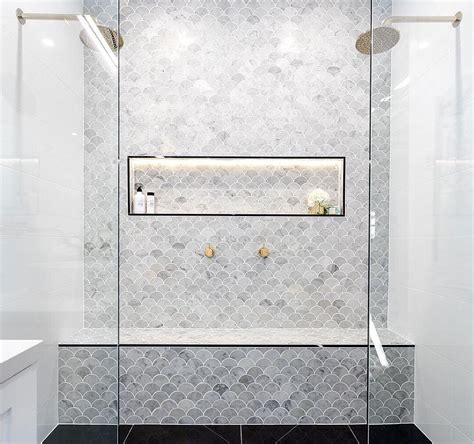 bathroom feature tile ideas marble feature tiles interiors bathroom