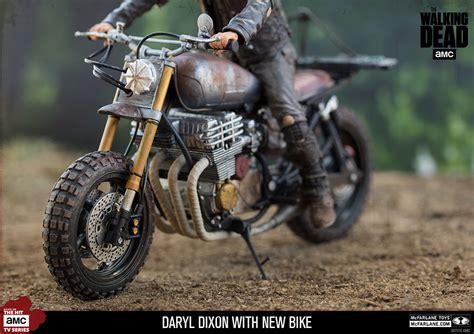 Daryl Dixon With New Bike