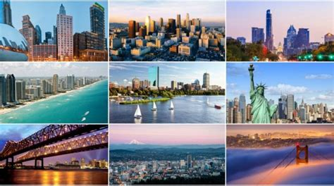 top   cities    united states