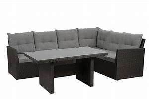 Gartenmöbel Lounge Set Günstig : h g gartenm bel set calvia lounge 3 teilig inklusive kissen grau g nstig online kaufen ~ Watch28wear.com Haus und Dekorationen