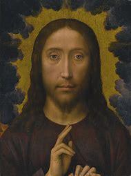 Hans Memling Christ Blessing