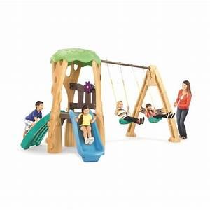 Little Tikes Tree House Swing Set  U0026 Reviews