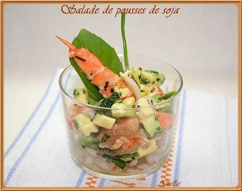 cuisiner pousse de soja la table lorraine d 39 amelie salade de pousse de soja