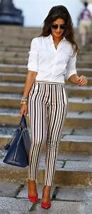 Trendy Summer Work Outfits For Women 2018 | FashionGum.com