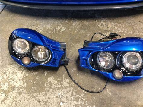 subaru headlight names 02 03 wrx morette headlight painted wrb i club