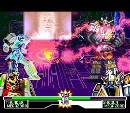 Mighty Morphin Power Rangers: The Fighting Edition (SNES ...