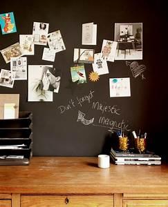 Magnetic Chalkboard Wallpaper