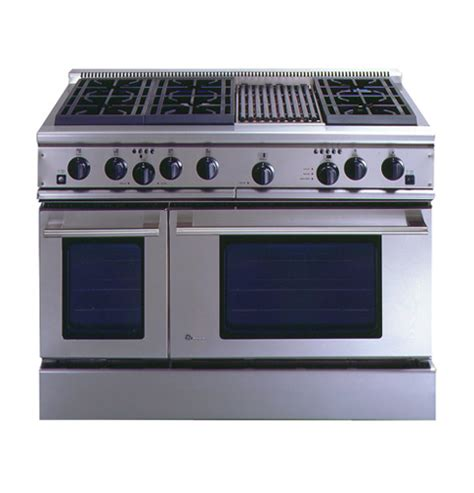 ge monogram  professional range   burners  grill liquid propane zdplrwss ge