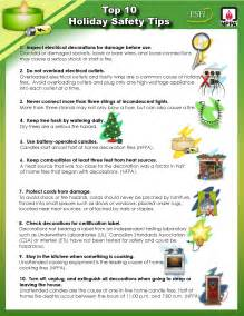 Holiday Safety Tips Workplace