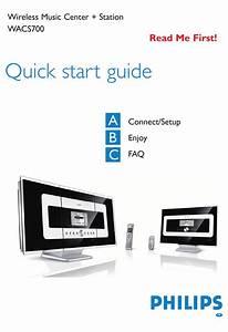 Philips Wac700  05 Quick Start Manual Pdf Download