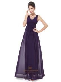 plum bridesmaid dresses purple chiffon bridesmaid dresses plum chiffon v neck knee length bridesmaid dresses