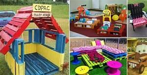des idees admirables de meubles pour enfants a bricoler With conseil pour peindre un mur 18 cabane de jardin en palette bois pour enfant