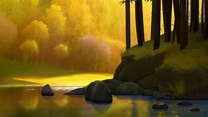 Wallpapers Landscape Autumn Trees 4k 1080p Background