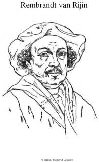 Nachtwacht Kleurplaat by N 2 Coloring Pages Of Rembrandt Rijn