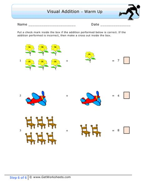 Visual Math Worksheets Worksheets For All  Download And Share Worksheets  Free On Bonlacfoodscom