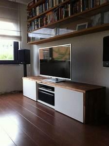 Tv Lowboard Ikea : ikea hack stylish tv cabinet do it darling misc house ~ A.2002-acura-tl-radio.info Haus und Dekorationen