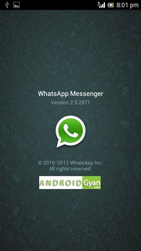 whatsapp for android whatsapp for android 2 2 and 2 3 6