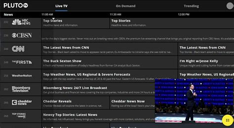 Pluto tv download for android, smart tv, ios, mac os, windows based devices, ott devices, amazon fire tv, roku and more from pluto official pluto tv has over 100 live channels and 1000's of movies from the biggest names like: Pluto TV Review & Rating   PCMag.com