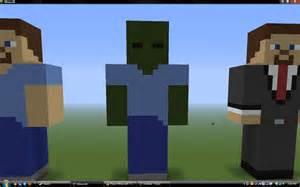 Minecraft Zombie Statue