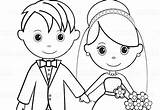 Groom Bride Coloring Printable Activity Personalized Colouring Favor Pdf Getdrawings Template Childrens Mariage Cake Getcolorings sketch template