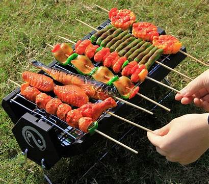 Bbq Wolfwise Charcoal Portable Foldable Grill Carbon