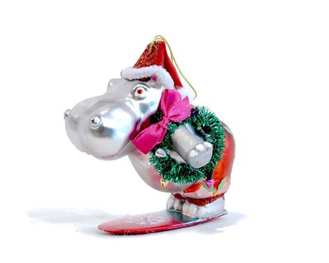 hippopotamus christmas lawn decoration psoriasisgurucom