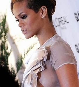 Oops: Busenblitzer bei Rihanna Beauty Sünden der