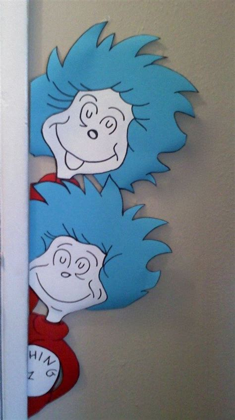 Thing One And Thing Two Decorations - best 25 dr seuss images ideas on dr seuss