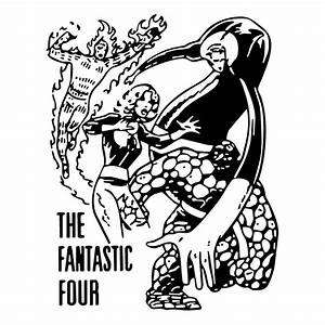 The fantastic four 0 Free Vector / 4Vector