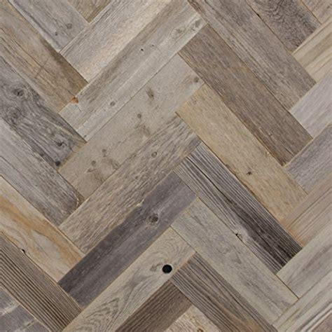 diy reclaimed barn wood wall herringbone pattern easy