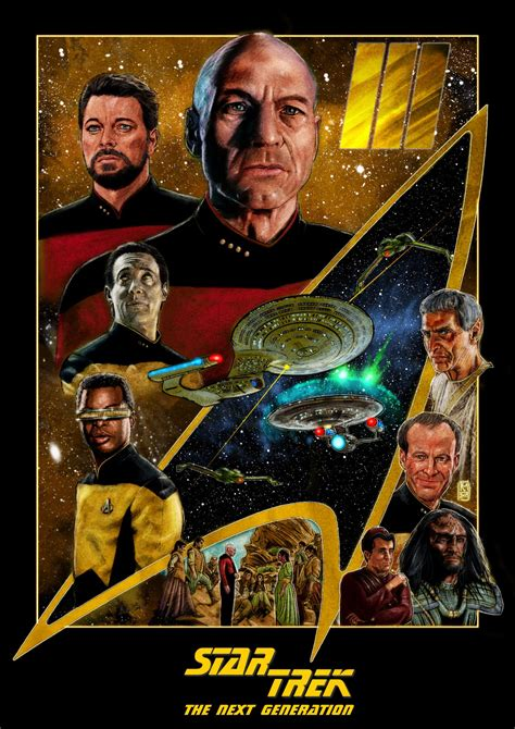 Star Trek: The Next Generation/Picard Collection - PosterSpy