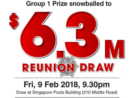 Lucky Punter Wins 9 58m In Jan 14 Toto Draw Singapore