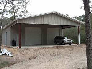 metal building with workshop durobeam steel 40x50x14 With 40x40 building