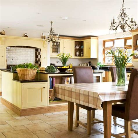 country kitchen diner ideas cream painted farmhouse kitchen diner kitchens decorating ideas image ideal home