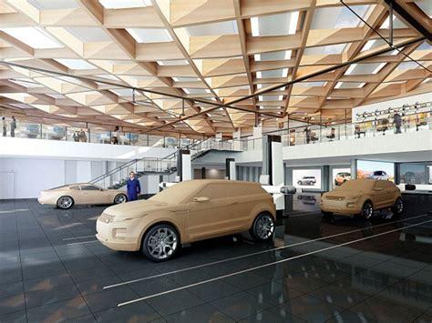 jaguar land rover starts construction   uk automotive
